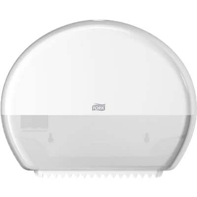 Tork Toilet Roll Dispenser T2 Mini Jumbo Plastic White