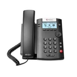 Polycom Corded Telephone 201 Black