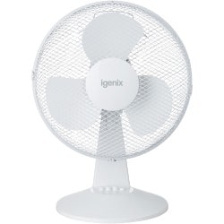 3 Speed Igenix Desk Fan 12""