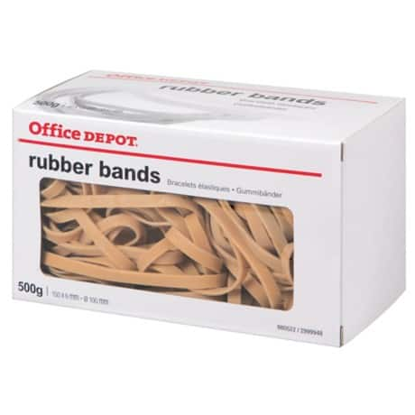 Office Depot Rubber Bands 6 x 150 mm Size 69, 500 g