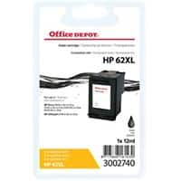 Office Depot Compatible HP 62XL Ink Cartridge C2P05AE Black