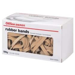 Office Depot Rubber Bands 8 x 120 mm Size 24/8, 500 g