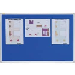 Franken Notice Board X-tra!Line Blue 1,200 x 1,500 mm