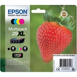 Epson 29XL Original Ink Cartridge C13T29964012 Black & 3 Colours 4 pieces