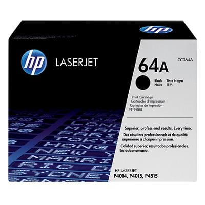 HP 64A Original Toner Cartridge CC364A Black