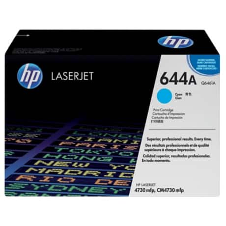 HP 644A Original Toner Cartridge Q6461A Cyan