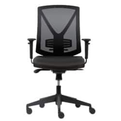 RS Soho Karl mesh office chair in black