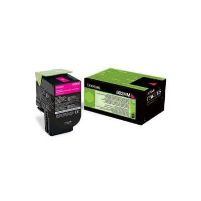 Lexmark 80C2HM0 Original Toner Cartridge Magenta