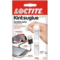 Kinsuglue Putty White 3 Pieces of 5 g