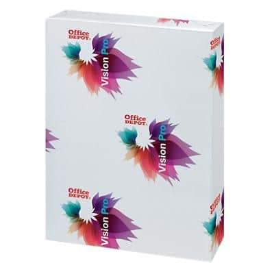 Office Depot Vision Pro Copy Paper A3 200gsm White 250 Sheets
