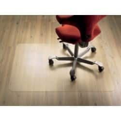 Clear Style polycarbonate chair mat for hard floors – 920 x 1220 mm