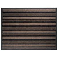 Office Depot Doormat Beige, Black 68 x 90 cm
