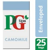 PG tips Camomile Tea Bags 25 Pieces