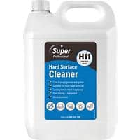 Super Professional Products H11 Hard Surface Cleaner Lemon 5L
