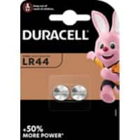 Duracell Battery Specialty LR44 2 Pieces