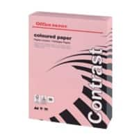 Office Depot Contrast Coloured Paper A4 80gsm Pink 500 Sheets