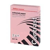 Office Depot Coloured Paper A4 80gsm Pastel Pink 500 Sheets