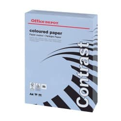 Office Depot Contrast Coloured Paper A4 160gsm Lilac 250 sheets