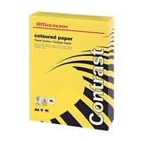 Office Depot Coloured Paper A4 80gsm Intense Yellow 500 Sheets