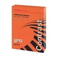 Office Depot 3221619 Coloured Paper A4 160gsm Red 250 Sheets