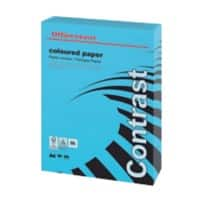 Office Depot 3222170 Coloured Tinted Paper A4 160gsm Intense Blue 250 Sheets