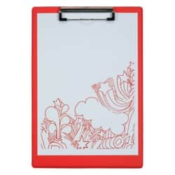 Office Depot Clipboard Red A4 23.5 x 34 cm polypropylene