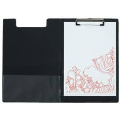 Office Depot Clipboard Fold-over Black A4 23.5 x 34 cm pvc