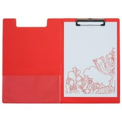 Office Depot Clipboard Red 23.5 x 34 cm pvc
