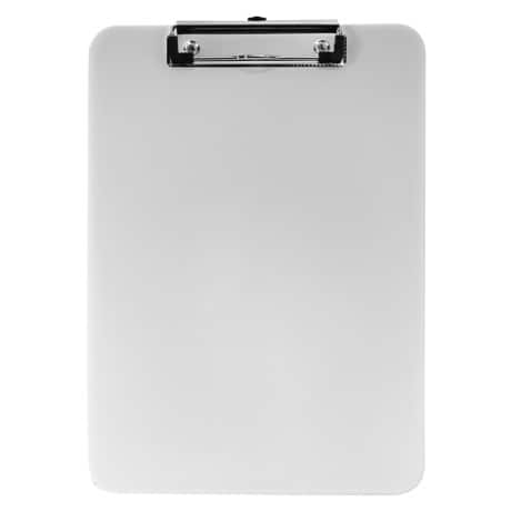 Office Depot A4 Acrylic Clipboard - Clear