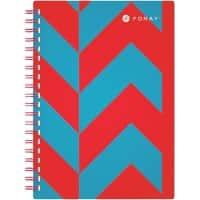 Foray Wirebound Notebook Extreme A5 Ruled 100 Sheets