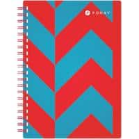 Foray Notebook Extreme A5 Ruled 100 Sheets
