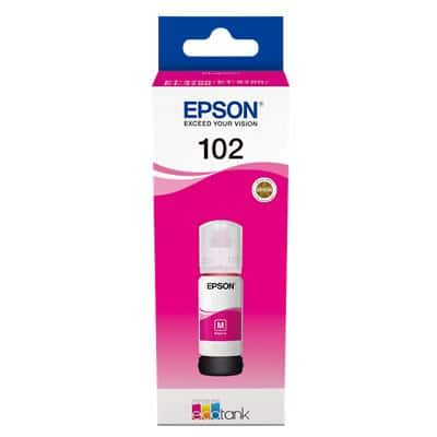 Epson 102 Original Ink Cartridge C13T03R340 Magenta 70 ml