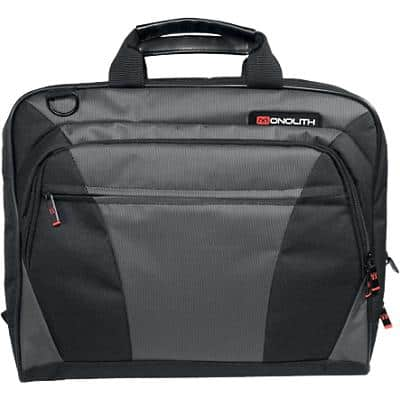 Monolith Laptop Bag 2400 40 x 7 x 32 cm Black, Grey