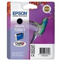 Epson T0801 Original Ink Cartridge C13T08014011 Black
