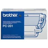 Brother Ribbon PC-201 Black