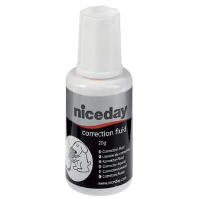 Niceday Correction Fluid White 20 ml