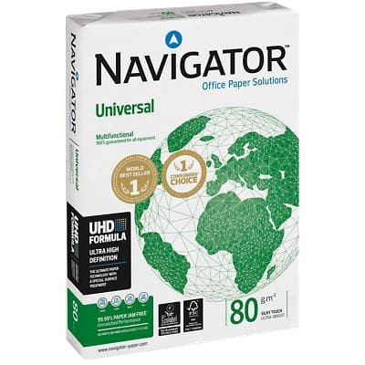 Navigator Universal Paper A3 80gsm White 500 Sheets