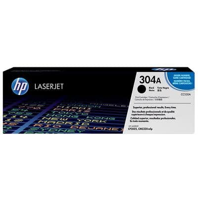 HP 304A Original Toner Cartridge CC530A Black