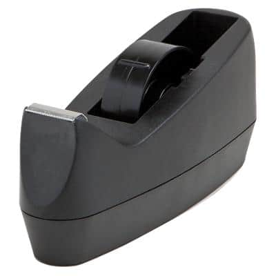 Tape Dispenser Dual Core Black