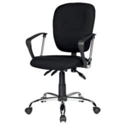 Realspace Office Chair Atlas synchro tilt Black