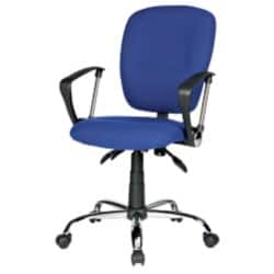 RS Soho 'Atlas' Office operators chair - blue fabric