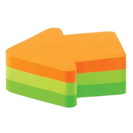 Post-it Sticky Note Cube Arrow Assorted 70 x 70 mm 72gsm 225 sheets