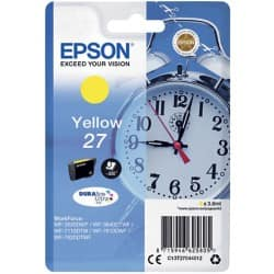 Epson 27 Original Ink Cartridge C13T27044012 Yellow