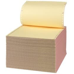 Niceday Listing Paper 279 x 241 mm 3 Part NCR Plain (White/Pink/Yellow)