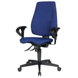 WorkPro Office Chair Eiger synchro tilt Blue