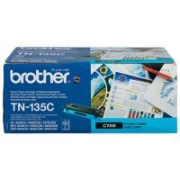 Brother TN-135C Original Toner Cartridge Cyan