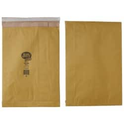 Jiffy Padded Envelopes 90gsm Brown plain peel and seal 50 pieces
