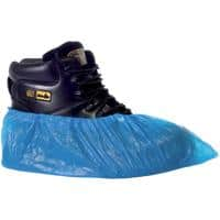 Supertouch Shoe Protecters Polythene Size 16 Inches Blue 100 Pieces