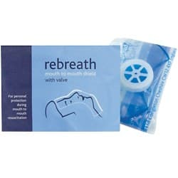 Rebreath Mouth To Mouth With Filter Valve