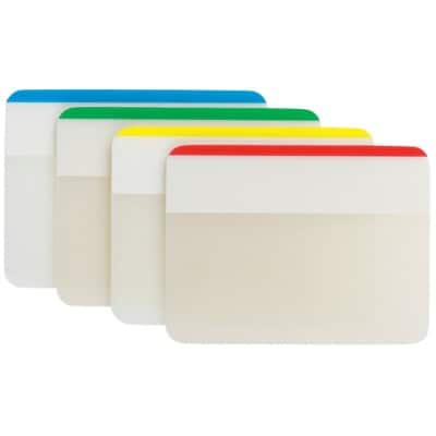 Post-it Index Flags 686 Assorted Plain 51 x 38 mm